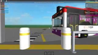 ROBLOX | Go-Ahead Trunk Service 84 (Punggol Int - Punggol Road End) (Loop)