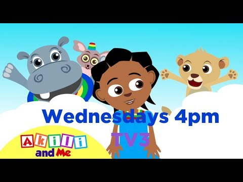 Africa's Most Popular Preschool Cartoon is Coming to Ghana! | Akili and Me on TV3