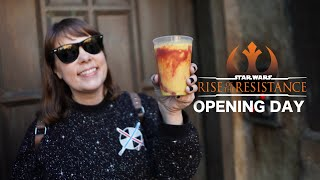 Rise of the Resistance Opening Day | New GALAXY'S EDGE Food! [Disneyland]