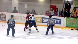 Ледовое побоище: украинские хоккеисты устроили массовую драку