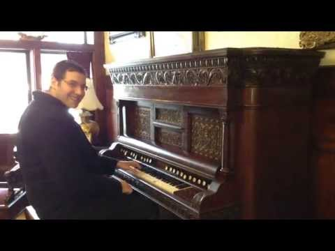 Playing a Pump Organ!