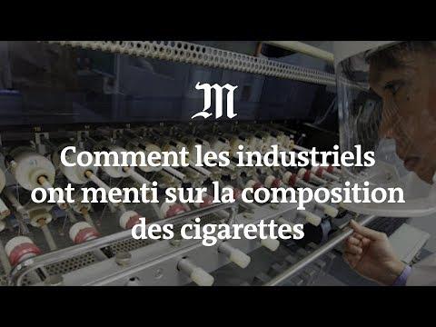Tabac : comment les industriels ont menti sur la composition des cigarettes