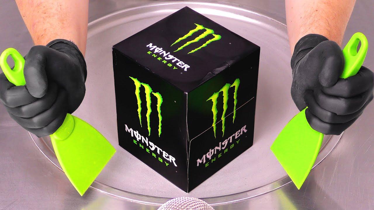 Monster Energy - Secret Box ???   Ice Cream Rolls ASMR