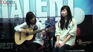 TALENT STARS - Vũ Trà My và Lại Ánh Nhật - SBD 072