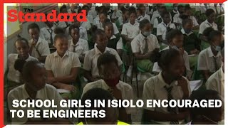 Engineers celebrate world engineering day in Isiolo, mentoring school girls to join the profession