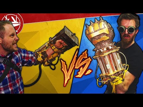 Powerfist VS Doomfist DESTRUCTION