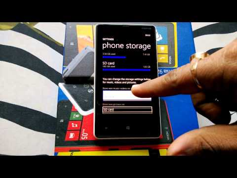 How to Manage SD Card on Windows Phone