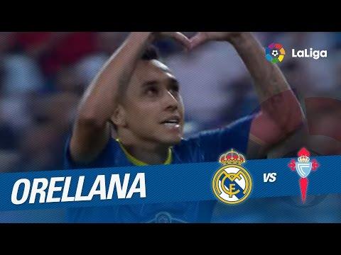 Golazo de Orellana (1-1) Real Madrid - Celta de Vigo