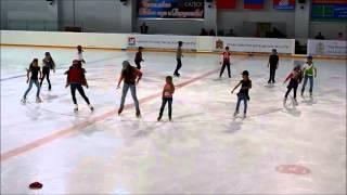 12 декабря 2015 — новогоднее представление на льду. Долгопрудный.