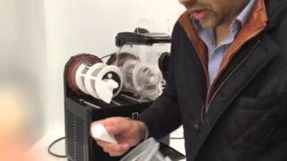 How to dismantle wash and reassemble Halos Frozen cocktail machine.