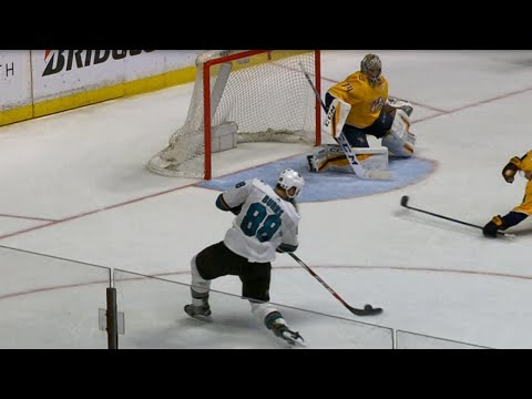 Predators' Saros robs Burns with save-of-the-year candidate