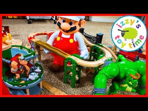 Thomas and Friends MARIO PART TWO! Fun Toy Trains for Kids