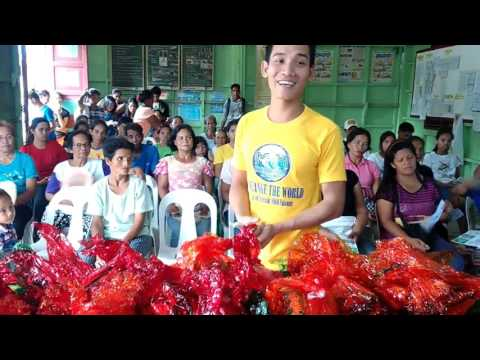 MMM Offline Presentation and Charity Event, Dumarao Roxas Palawan on Nov  1, 2015