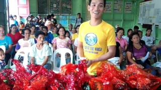 MMM Offline Presentation and Charity Event, Dumarao Roxas Palawan on Nov  1, 2015