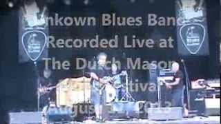 Unknown Blues Band Live at the Dutch Mason Blues Festival 1