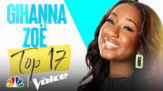 """Download Gihanna Zoë Sings Lady Gaga's """"Always Remember Us This Way"""" - Voice Live Top 17 Performances 2021"""