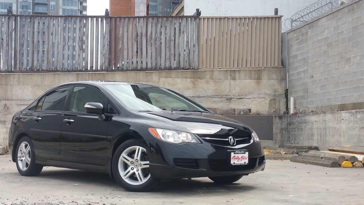 2008 acura csx automatic leather low kms malibu motors