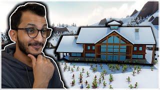 بناء منتجع التزلج | أول يوم ناجح! Snowtopia
