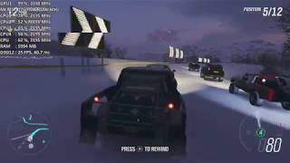 Forza Horizon 4 On AMD Radeon 520 / R5 M430 / R5 M330 2GB. Gameplay Benchmark
