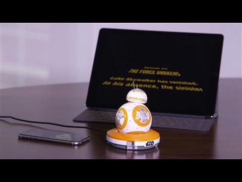 The Droid Awakens: Sphero BB-8 'Watches' Star Wars