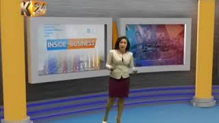 K24 interview on  Inside Business