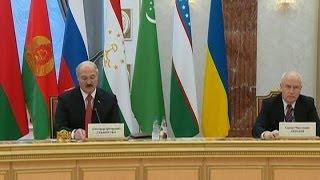 В Минске проходит заседание Совета глав государств СНГ
