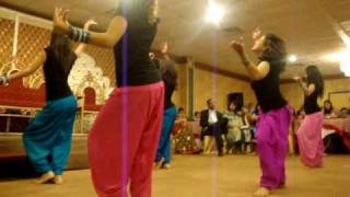 Shaadi Dance For Rahil and Munira (Bhangra Sisters)