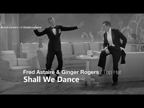 Fred Astaire Ginger Rogers Shall We Dance 2 33 Youtube