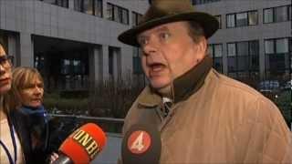 Hästköttskandalen. Landsbygdsminister Eskil Erlandsson uttalar sig.