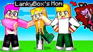 LANKYBOX'S MOM Gets KIDNAPPED In MINECRAFT! (ft. MOMMY MEAREST FROM FRIDAY NIGHT FUNKIN!)