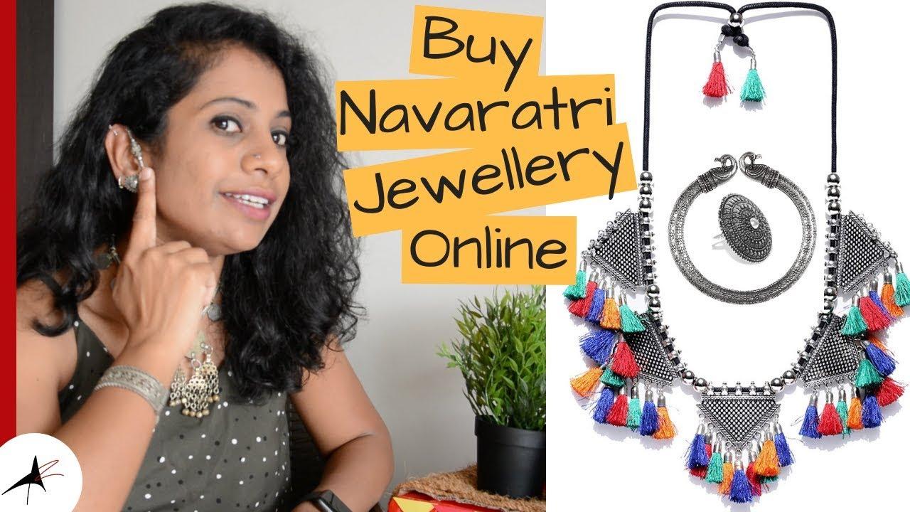Oxidised Silver Jewellery For Navratri (11 Designs)  Arpitharai