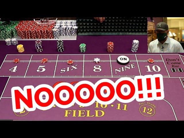 🔥 BRUTAL x3 🔥 30 Roll Craps Challenge - WIN BIG or BUST #61
