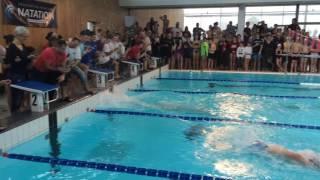 Jérémy Stravius en série du 100 mètres à Blain !