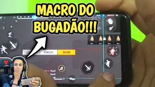 MACRO DO BUGADÃO NO CELULAR!! ENSINEI A FAZER NO ANDROID! | MACRO OCTOPUS | MACRO FREE FIRE ANDROID