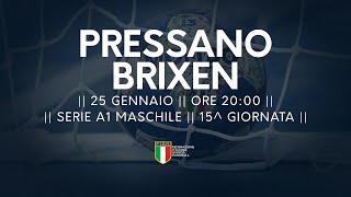 Serie A1M [14^]: Pressano - Brixen 30-25