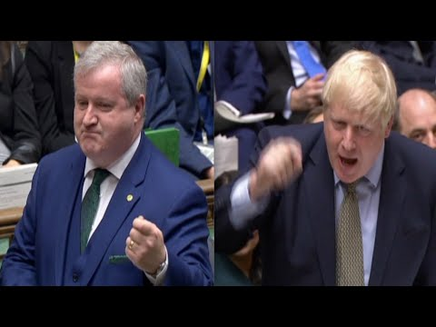 Boris Johnson brutally rejects renewed SNP calls for Scottish referendum: Stop breaking up the union