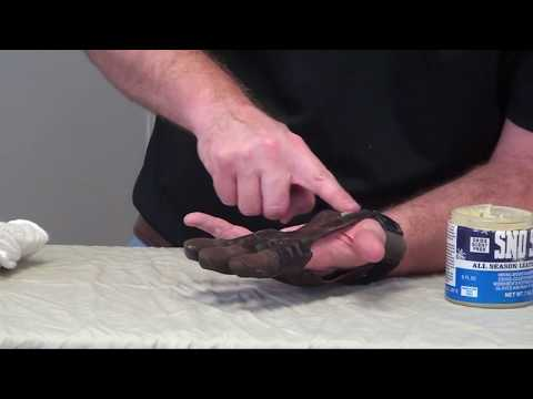 How to Waterproof an Archery Glove with Sno-Seal All Season Leather Protection