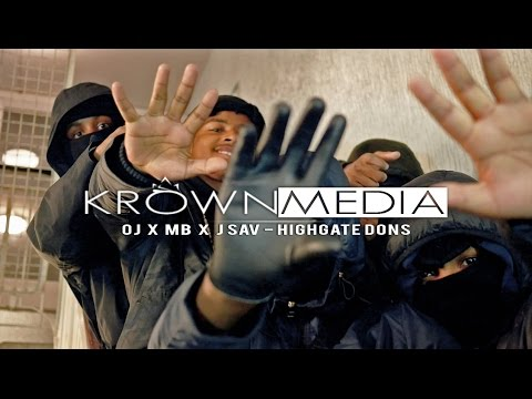 OJ X MB X JSav (#5) - Highgate Dons [Music Video] (4K) | KrownMedia