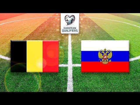 Belgien - Russland (EM-Qualifikation 2020)