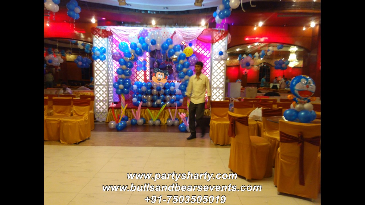 Birthday Party Organiser Doraemon Birthday Party Decoration