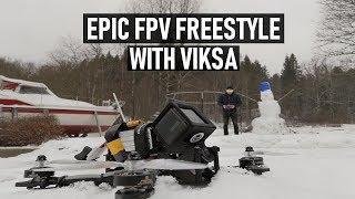 EPIC FPV Freestyle ft. Viksa   Featured Drone Pilot #6   DansTube.TV