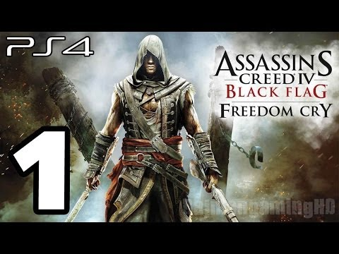 Assassin's Creed 4 Black Flag Freedom Cry Walkthrough PART 1 (PS4) [1080p] TRUE-HD QUALITY