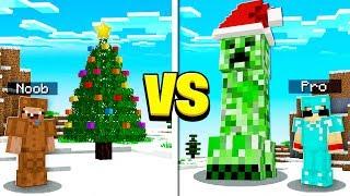 MINECRAFT NOOB vs PRO CHRISTMAS!