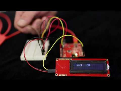 Sensor de flexibilidade resistivo – 55 mm