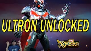 Ultron Unlocked Last Stage Finished - MARVEL Strike Force - MSF