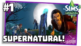 The Sims 3 Supernatural #1: UM CASAL ANORMAL!