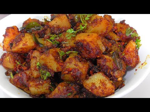 SPICY POTATO FRY RECIPE /how To Make Aloo Fry/simple & Tasty Potato Fry Recipe