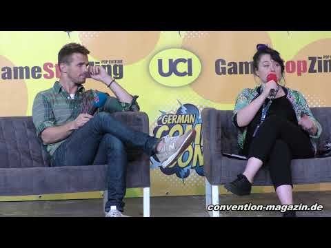 Panel with Cam Gigandet, German Comic Con 2019 Berlin