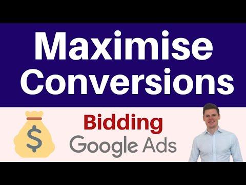 Maximise Conversions Google