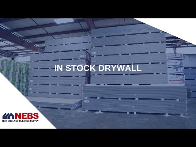 Large Selection of Drywall Products